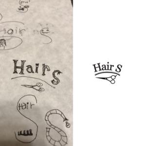 Hair-S  ロゴデザイン