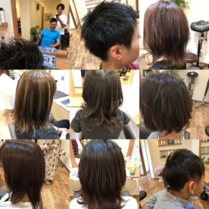 Hair-S  オープンから1ヶ月経ちました!