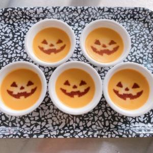 10月のミニデザート!ハロウィンかぼちゃプリンの作り方